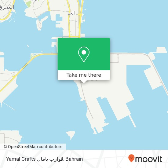 Yamal Crafts قوارب يامال map
