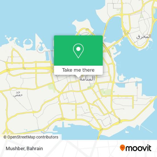 Mushber map
