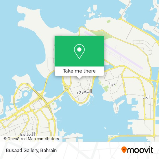 Busaad Gallery map