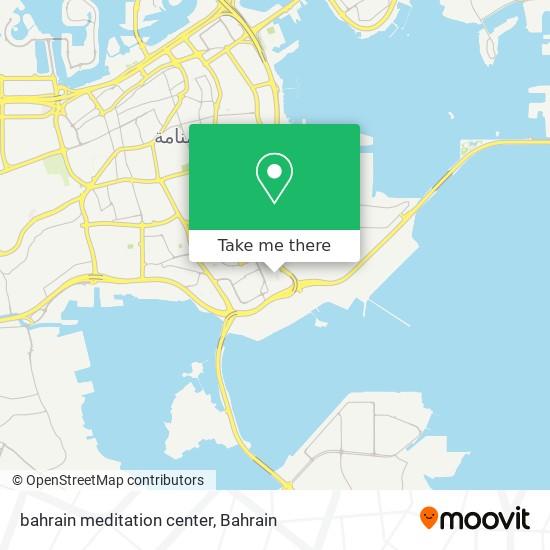 bahrain meditation center map