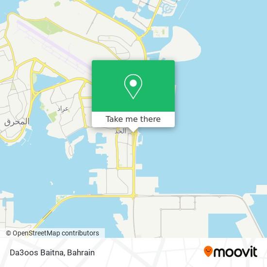 Da3oos Baitna map