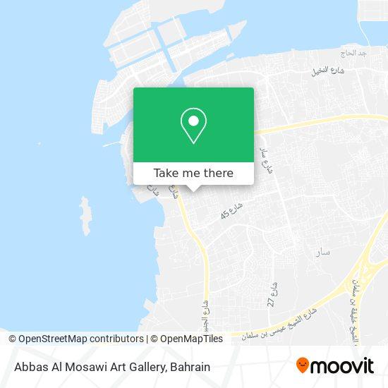 Abbas Al Mosawi Art Gallery map