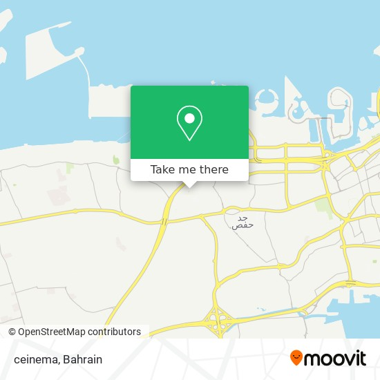 ceinema map