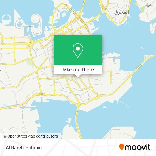 Al Bareh map