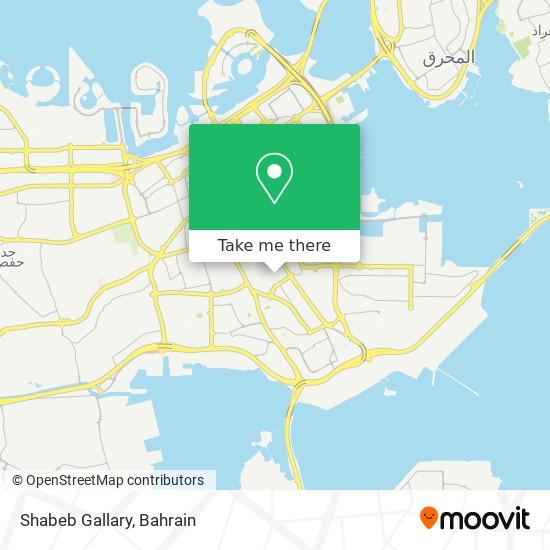 Shabeb Gallary map