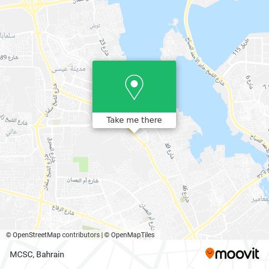MCSC map