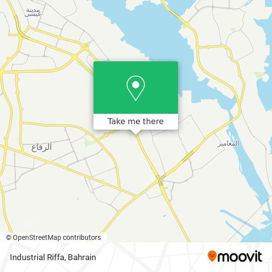 Industrial Riffa map