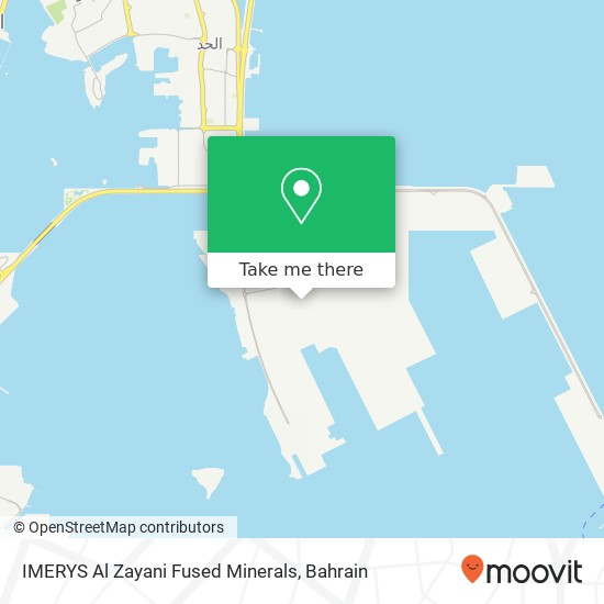 IMERYS Al Zayani Fused Minerals map