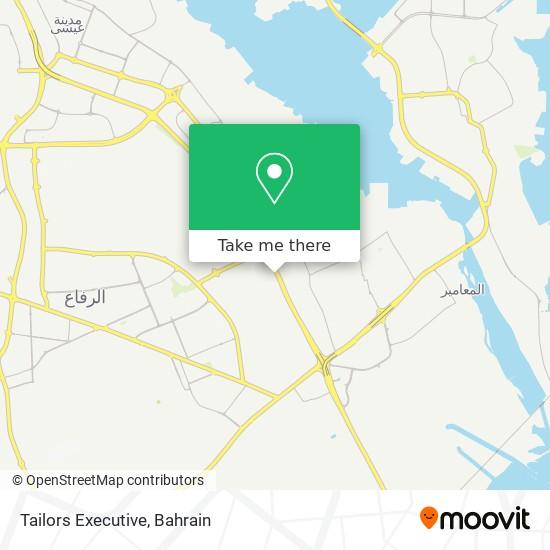 Tailors Executive map