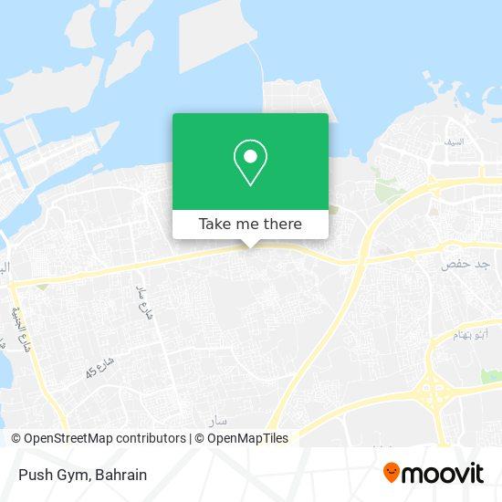 Push Gym map