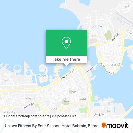 Unisex Fitness By Four Season Hotel Bahrain map