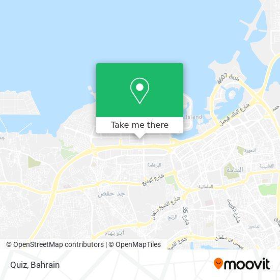 Quiz map