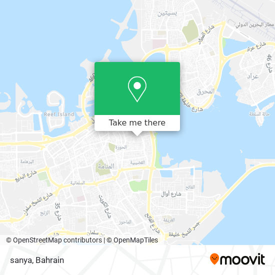 sanya map