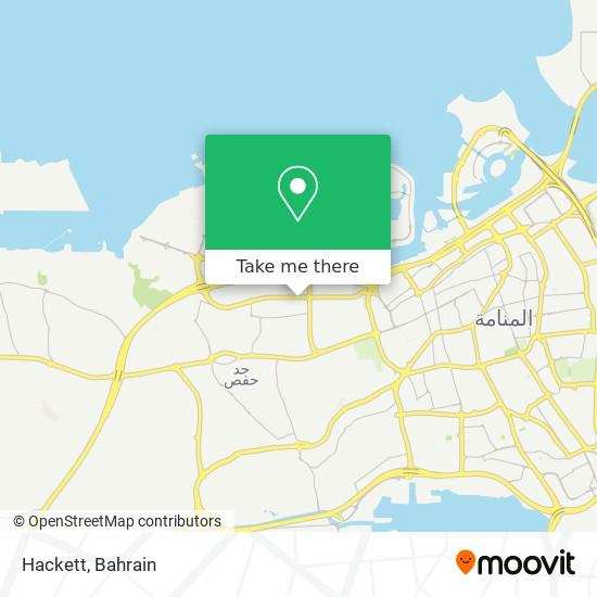 Hackett map