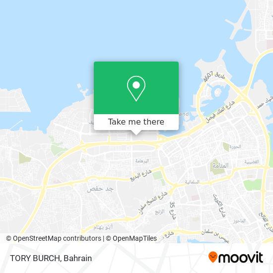 TORY BURCH map