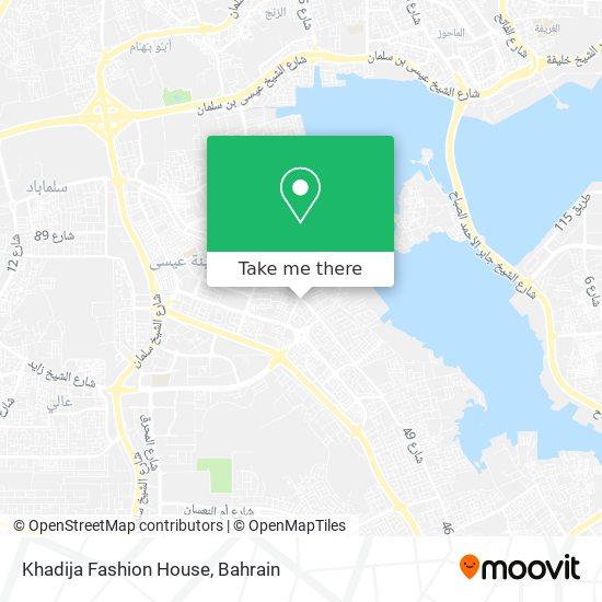 Khadija Fashion House map