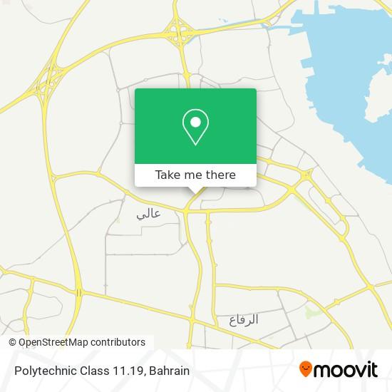 Polytechnic Class 11.19 map