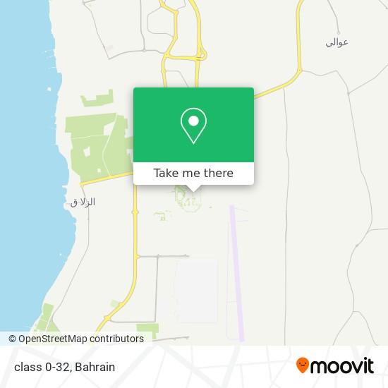 class 0-32 map