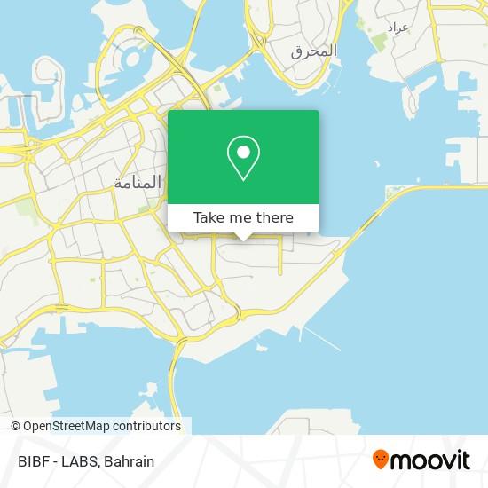 BIBF - LABS map