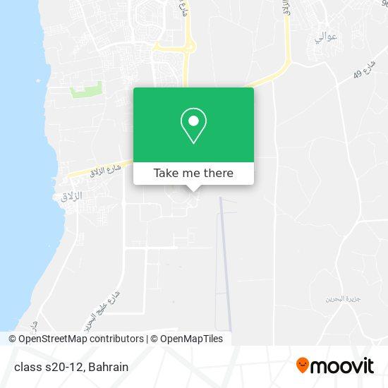 class s20-12 map