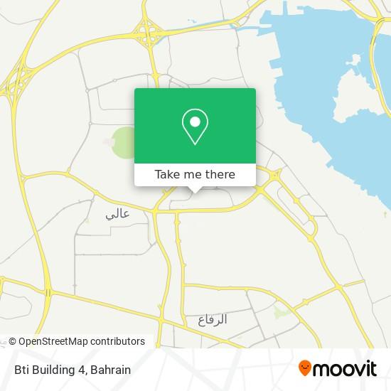 Bti Building  4 map