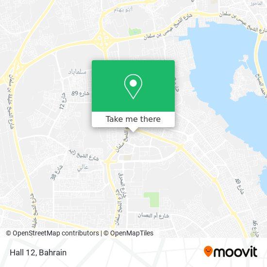 Hall 12 map