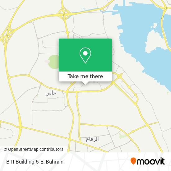 BTI Building 5-E map