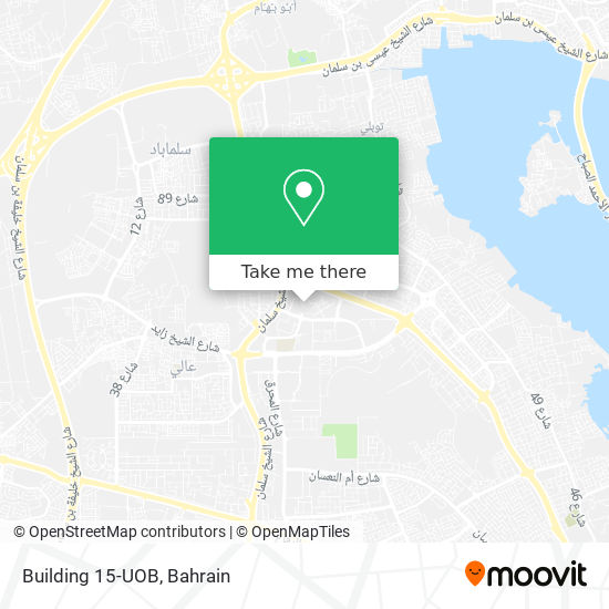 Building 15-UOB map