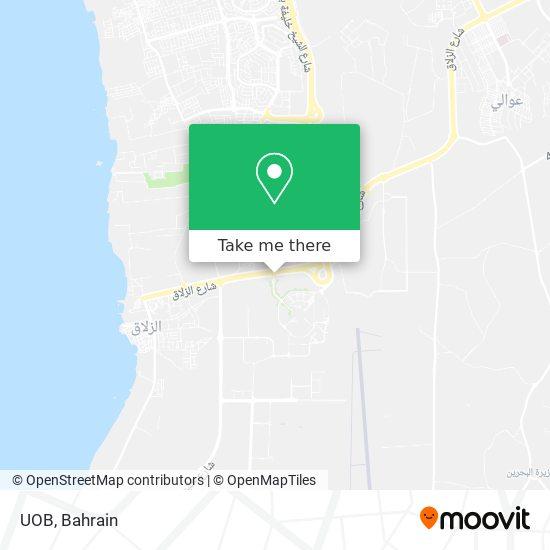 UOB map