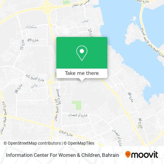 Information Center For Women & Children map