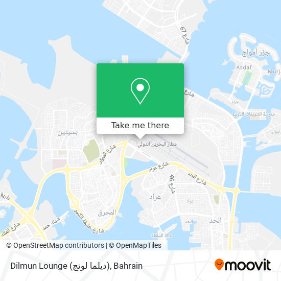 Dilmun Lounge (ديلما لونج) map