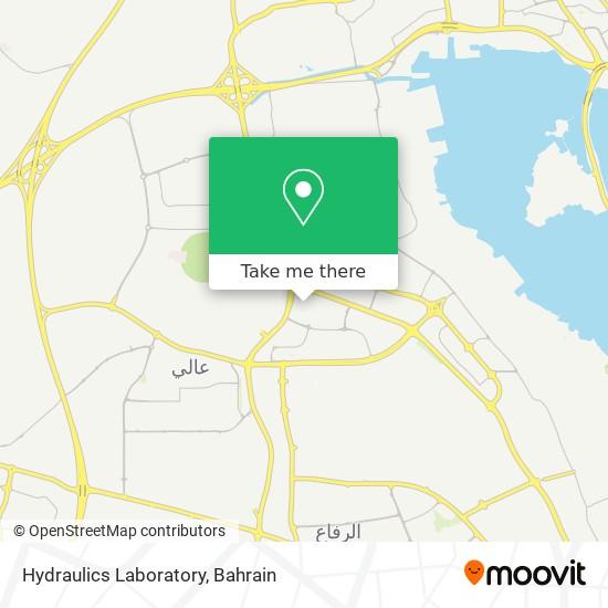 Hydraulics Laboratory map
