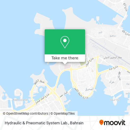 Hydraulic & Pneomatic System Lab. map
