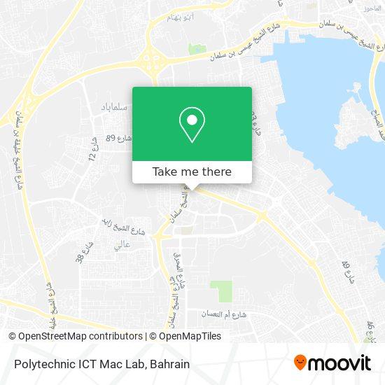 Polytechnic ICT Mac Lab map