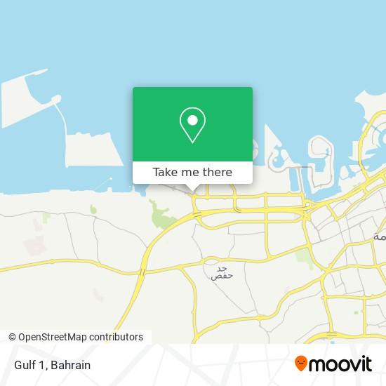 Gulf 1 map