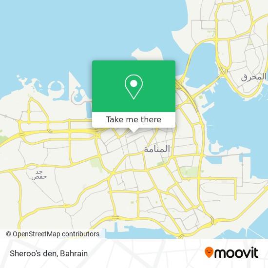 Sheroo's den map