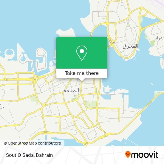 Sout O Sada map