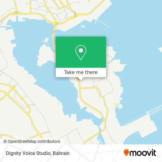 Dignity Voice Studio map