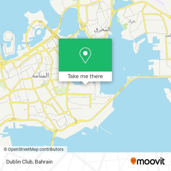 Dublin Club map