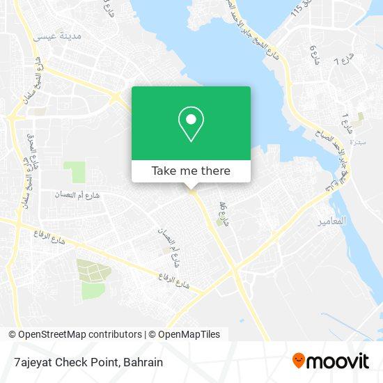 7ajeyat Check Point map
