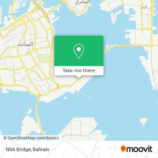 NSA Bridge map
