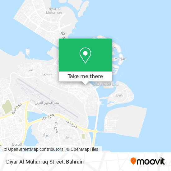 Diyar Al-Muharraq Street map