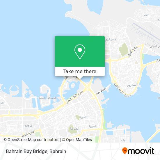 Bahrain Bay Bridge map
