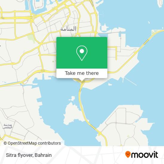 Sitra flyover map