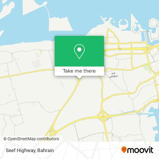 Seef Highway map