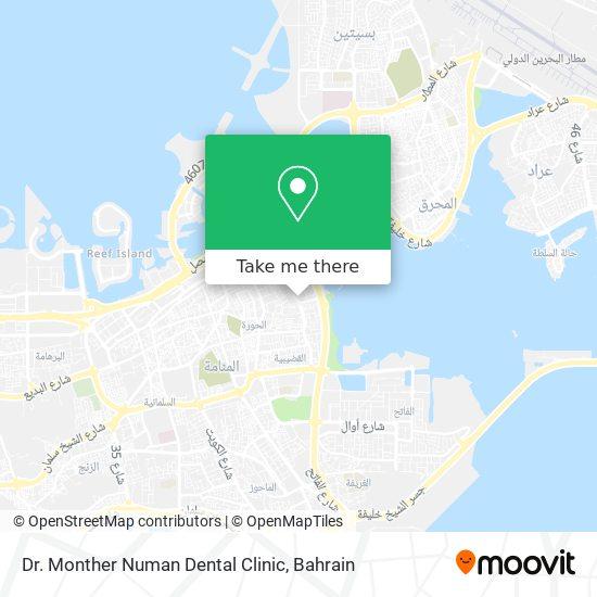 Dr. Monther Numan Dental Clinic map