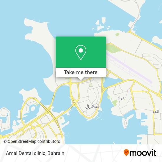 Amal Dental clinic map