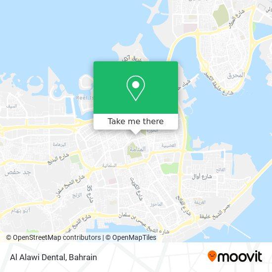 Al Alawi Dental map