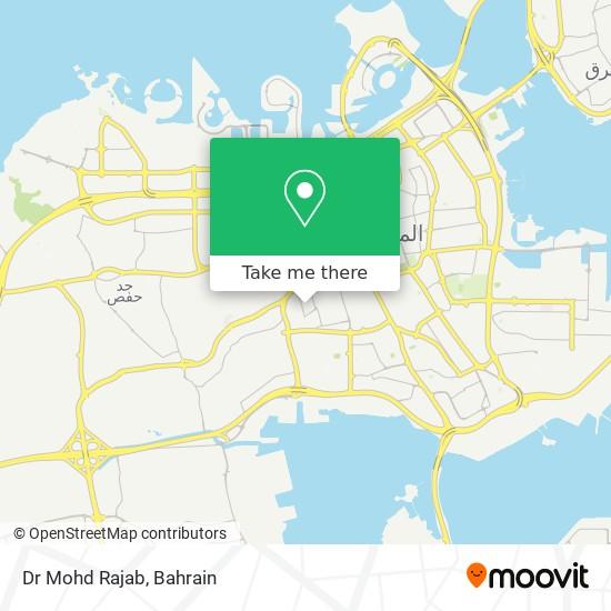 Dr Mohd Rajab map