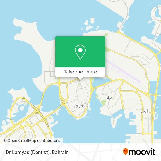Dr Lamyas (Dentist) map